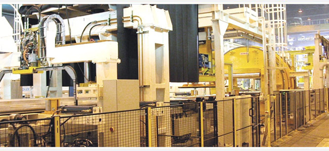 Brazing line by Sermas Industrie